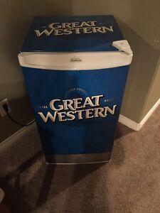 Great Western wrapped mini fridge