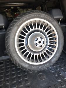 Metzeler tire / Rim Street /Road Glide/Ultra classic