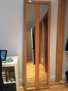 Miroir portes pliantes acheter et vendre dans grand for Porte miroir pliante