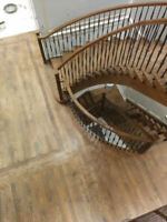 Professional flooring & stair installation/refinishing