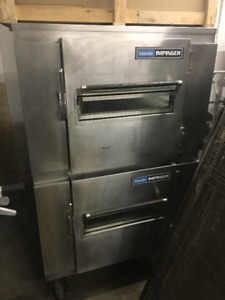 Lincoln 1450 pizza oven double stack