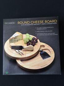 Brand new cheese board