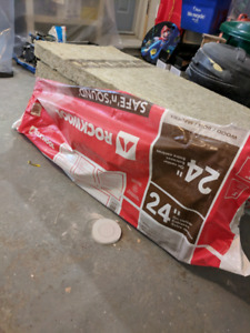 "Rockwool Safe n Sound 24"" insulation"
