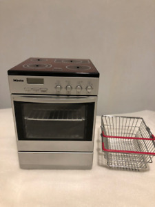 Theo Klein Miele Toy Oven with Light and Sound and Basket