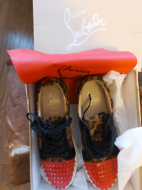CHRISTIAN LOUBOUTIN RED AND PRINT SIZE 43/44