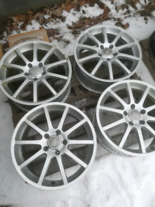 """4 MAGS RSSW 17"""" 5x112 NEGO!"""