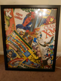 Marvel framed photo for sale