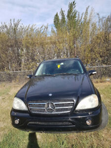 2002 Mercedes-Benz M-Class ML 500 SUV, Crossover
