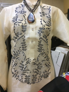 FILIPINIANA IN CANADA BARONG/SAYA/FILIPINO PHILIPPINE COSTUMES