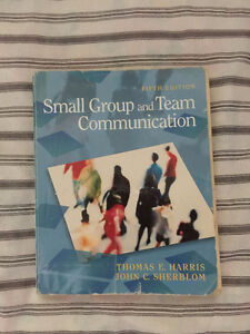 Small Group and Team Communication (5th Edition) Textbook