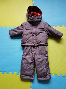 Baby Boy 12 months winter jacket and snow suit