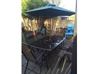 Patio furniture for grabs