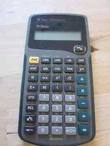 Calculatrice Texas instruments TI-30Xa