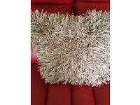 Rug, cushions, sparkle, mink, from next,