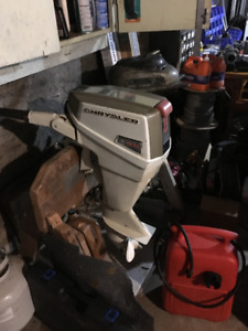 9.9 Chrysler outboard motor