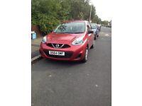 Nissan Micra 64 plate in red for sale still under warranty