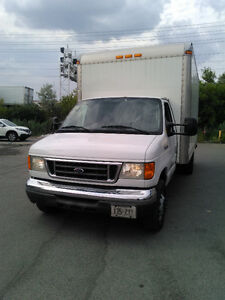 2006 FORD E-350 DIESEL CUBE VAN CERTIFIED AND E-TESTED