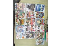 Assortment of Nintendo wii console games