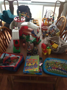 Huge Assortment of Baby/Toddler+ Toys - $50