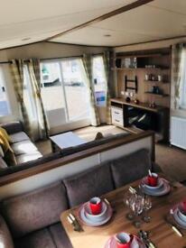 Luxury brand new 8 berth static caravan on the Ayrshire coast, Sandylands