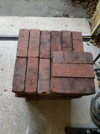 Reclaimed imperial size red bricks
