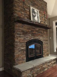 FIREPLACE MAKEOVER - DONE BY PROFESSIONALS !