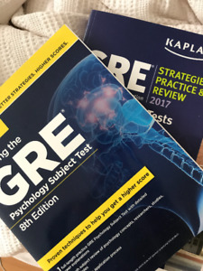 GRE PSYCHOLOGY SUBJECT TEST - PRINCETON REVIEW + GRE EXAM - KAPL
