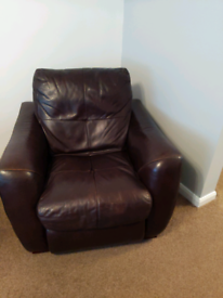 Leather Sofa Suite