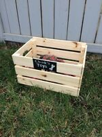 Homemade Dog Toy Boxes