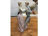 Lladro Anniversary Couple Dancing Figure 1978 VGC