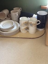 Lot of Poole Pottery