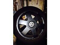 VW golf mk4 Audi wheels and alloys