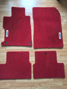 TAPIS ROUGE HONDA CIVIC HFP