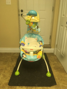 Fisher Price Swing Away Mobile Baby Swing