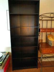 Ikea bookcase with 6 shelves