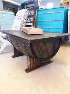 Whiskey Barrel Coffee Tables.  Cambridge Kitchener Area image 7