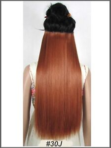 """Clip in hair extension,60 cm,24"""",NEW COLORS!!! AUBURN,COPPER RED Yellowknife Northwest Territories image 2"""