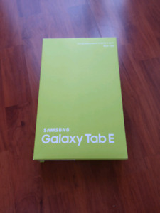 "Samsung Galaxy Tab E 9.6"" 16GB Android"