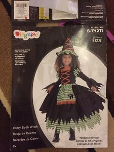 2t Halloween witches costume