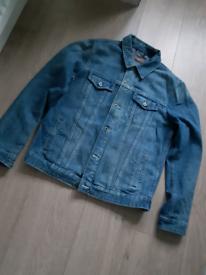 asos men's denim jacket. Size M