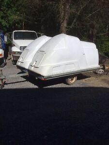 8x10 sled trailer