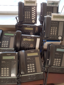For sale used Panasonic phones and conference systems