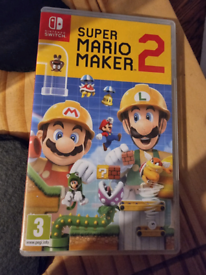 Mario maker 2 switch game