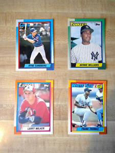 Box of Topps 1990 Baseball Cards + Collectors' Edition Magazine