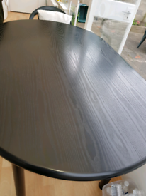 Black Rectangular Table For Sale
