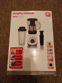 Morphy Richards -Easy blend and juice (blender)