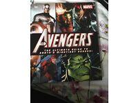 Avengers book. Encyclopaedia kids books superhero marvel comic