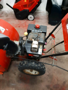 Two snowblowers for parts or repair