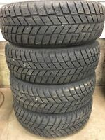 Set of 195/60R15 winter tires