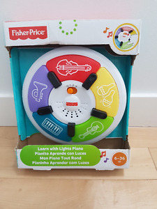 Brand New Fisher Price Learn With Lights Piano